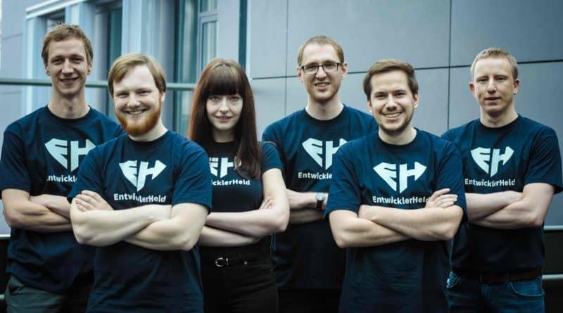 Entwicklerheld Team HR Startup SAATKORN