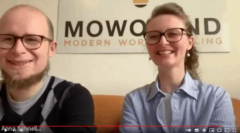 Anna und Nils von Mowomind im Videotalk