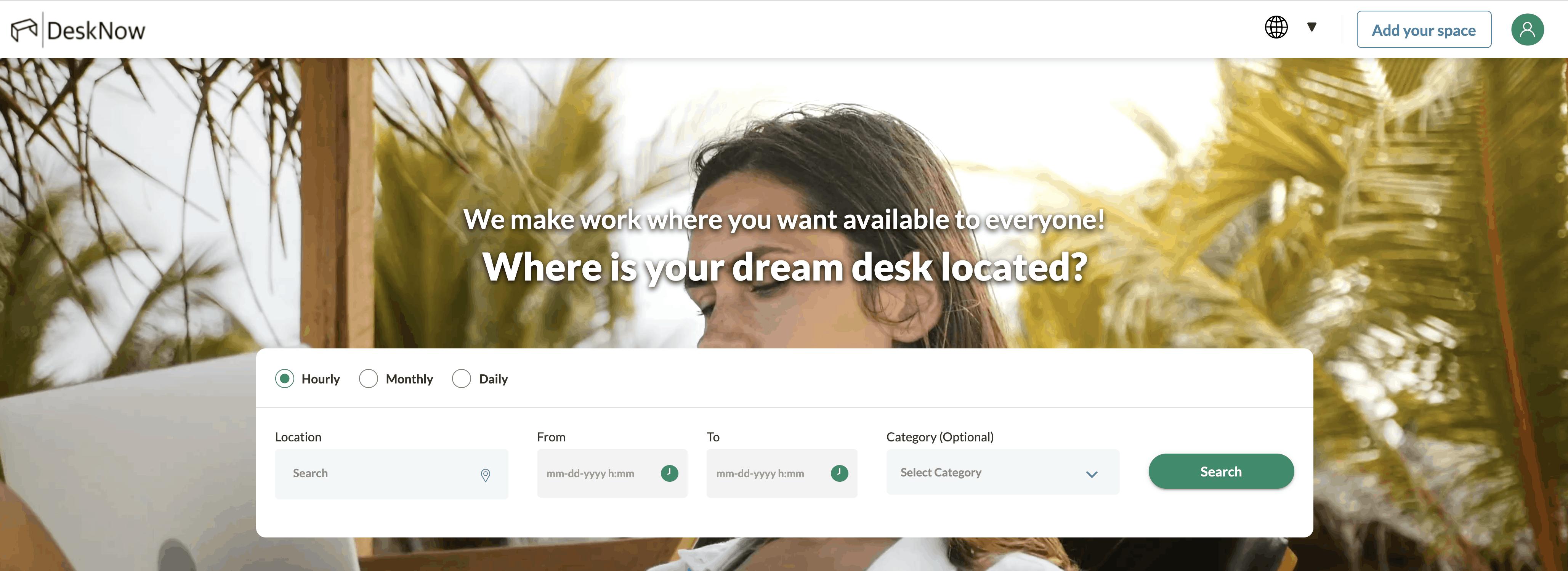 DeskNow SAATKORN Startup Serie