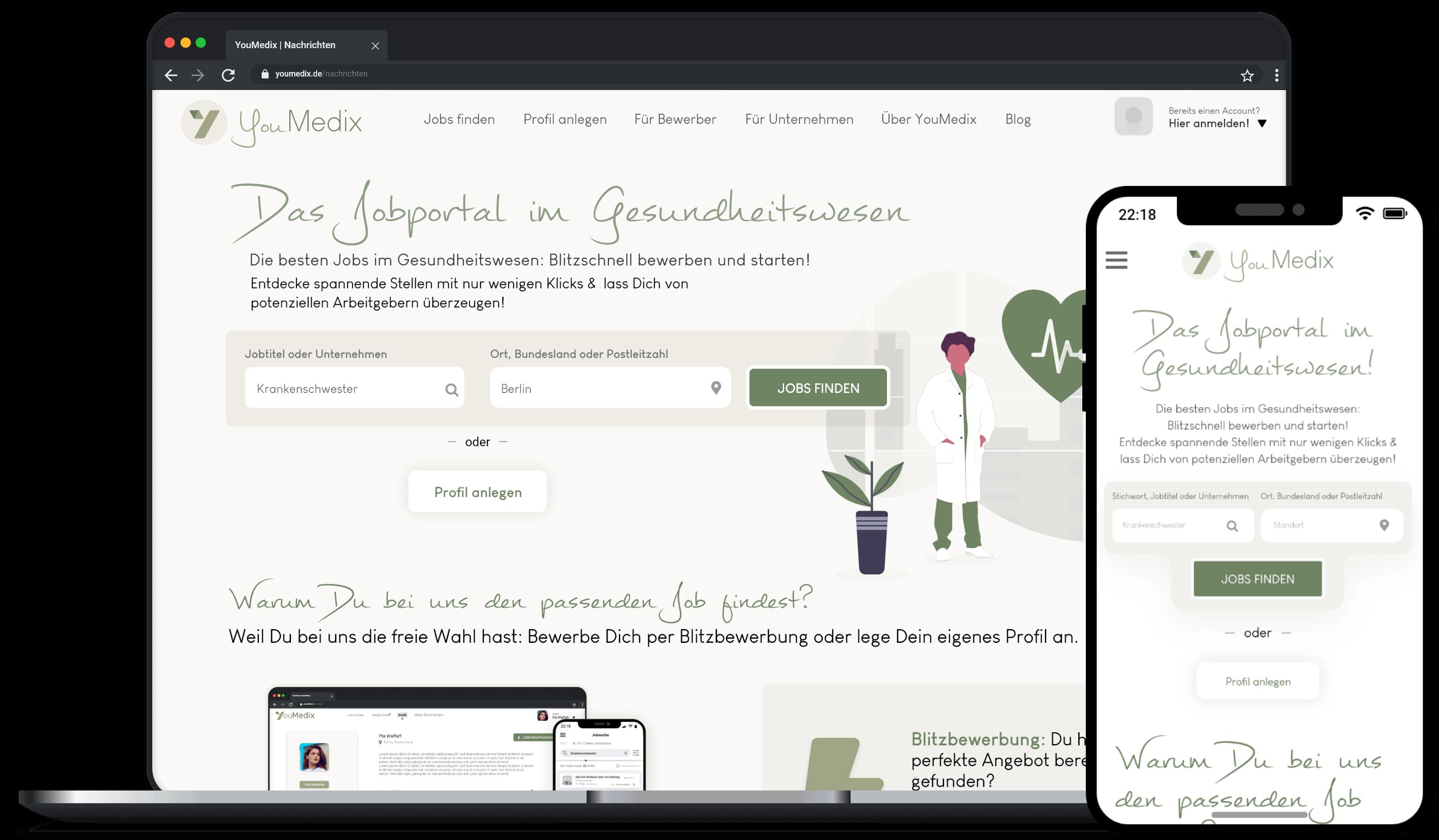 YouMedix SAATKORN HR Startup