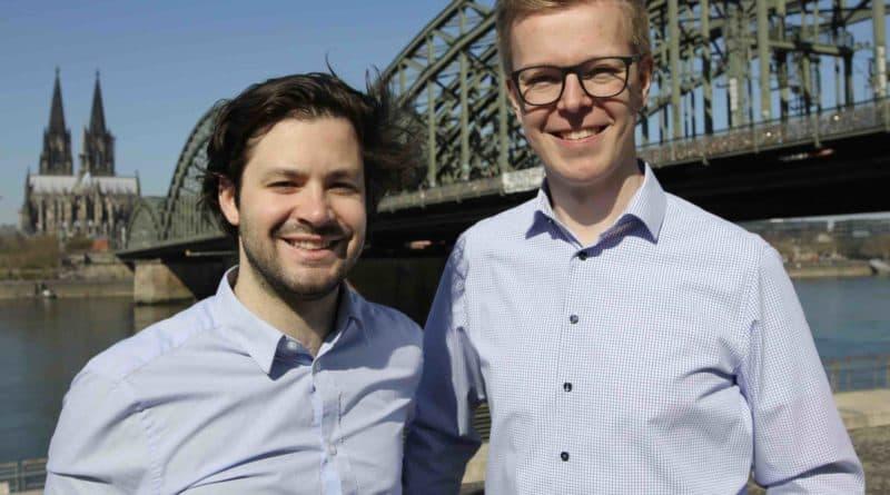 Co-Leader Philipp Spiekermann Florian Abel HR Startup SAATKORN