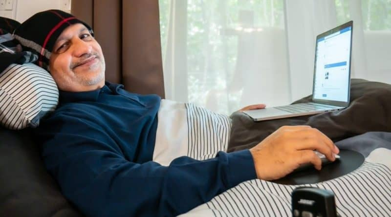 K. Nadeem Arif Behinderung CEO outsourcing4work Diversity SAATKORN