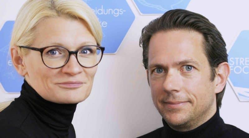 Tamara und Peter StrengthFocus Startup SAATKORN