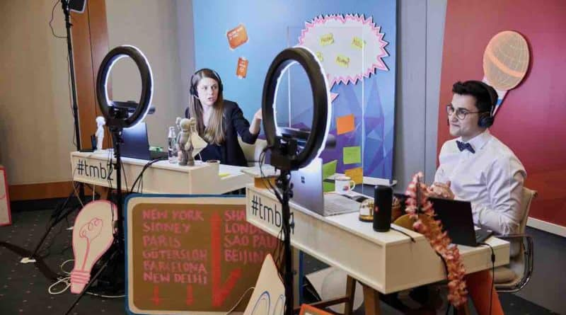 Talent Meets Bertelsmann Territory Embrace SAATKORN digital Employer Branding