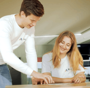 Aivy Boas und Alexandra Digital Assessment Studie SAATKORN