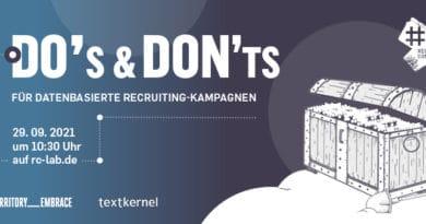 Webinar-Tipp: Datenbasierte Recruiting Kampagnen