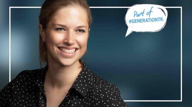 Laura Garbe thyssenkrupp #generationtk SAATKORN Podcast horizontal