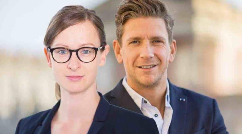 Susanne Auracher Alexander Schroeder HELIOS EchtesLeben SAATKORN Podcast Employerbranding bei Helios horizontal
